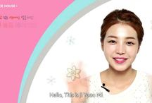 Korean makeup looks / by Coco Park