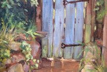 Art- Picket Fences and Garden Gates