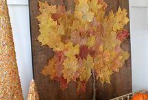 Artesanías de otoño