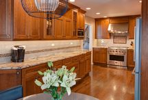 Portfolio: Stunning Services and Unexpected Styles / A kitchen remodel in Norridge, IL.