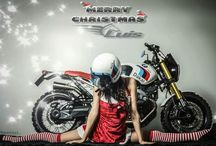BMW Merry Christmas by Luismoto / Merry Christmas Luismoto / BMW R NineT Paris Dakar