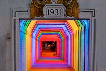 Light and color in architecture and installations