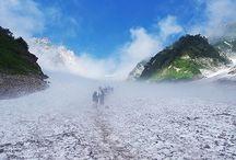 白馬岳(北アルプス)登山 / 白馬岳の絶景ポイント 北アルプス登山ルートガイド。Japan Alps mountain climbing route guide