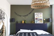 Chambre tête de lit
