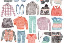 Fashion Illustration / marketing design ideas