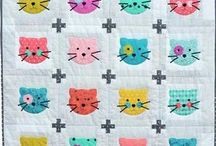 Colorful Quilts / Bright, fun, and happy quilts and quilt patterns for colorful quilts and quilt inspiration.