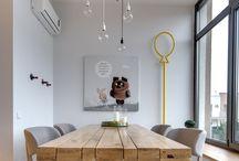 Obývačka - jedálenský stôl