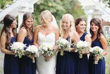 Bridal party colors / Wedding