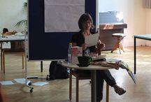 Veranstaltungen / Erinnerunen an Lesungen, Workshops, Diskussionsrunden und Orte