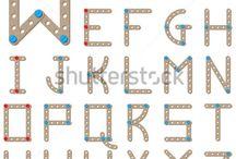 Vector. Fonts