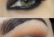 """Machiaj tip """"smokey eyes"""""""