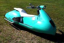 Variant Vespa / #scooter  #vespa  #moto #2roues  #motocycle #2temps