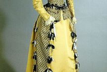 Shades of Victorian Fashion: Lemon, Butter, Gold, and Yellow / During the Victorian era, yellow was believed to be the color most similar to light. With shades ranging from the palest butter to the liveliest lemon, it was suitable for morning dresses, day dresses, evening gowns, and seaside wear.