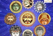 Navagraha Homam / http://www.vedicfolks.com/career/karma-remedies/shared-homam/navagraha-series-of-homam.html