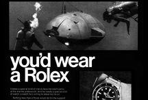 Vintage Rolex Ads
