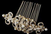 Bridal Hair Accessories / Bridal hair accessories for the elegant bride.
