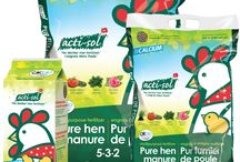 **NATURAL FERTILIZER - ACTI-SOL** / Acti-Sol offers both amateur and professional gardeners a really efficient alternative to synthetic fertilizers. Approved for organic farming, our fertilizers made from hen manure and natural ingredients will meet all your needs.