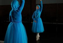 moslem ballerina