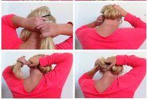 Hair / Hair tutorials and beauty