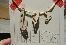 Handlettering - eigen creaties kerst