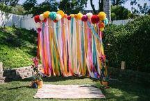 Rainbow Graduation Decorations