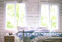 Drömmen - sovrum uppe / Vacation home, vacation home bedroom ideas, cottage bedroom, summer cottage