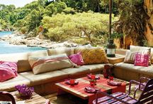 Tuin Ibiza style