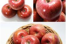 청과마트 / 가락시장 청과마트의 판매 과일들