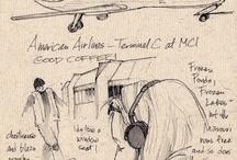 Sketching / by Gaby Halty