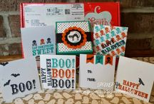 """Bootiful-Bags"" paper pumpkin kit September 2014"