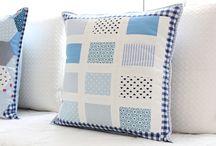 almofadas / patchwork