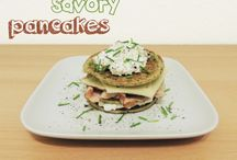 savory food / savory clean food