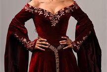 Платья средневековье
