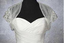 Wedding Jackets, Boleros & Capes / A gorgeous collection of wedding jackets, bolero's and capes.