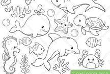 denizde yasayan hayvanlar