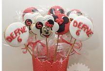Minnie mouse kurabiye