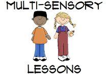 Mulit-Sensory Lessons