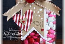 Machen Sie Sich Bereit Für Den 14. Februar Früh Mit Valentinstag Einweckgläser