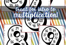 Math Card Material