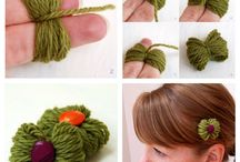 Yarning / Yarn projects & ideas that do not require knitting or crocheting skills.