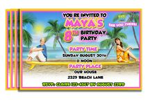 Izzy teen Beach Movie Party