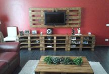 Wood Pallets / Pallets Ideas, Designs, DIY, Recycled, Upcycled Pallet Plans And Projects.