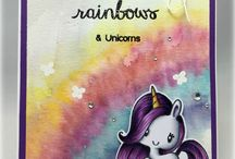 Unicorn & Rainbow Cards
