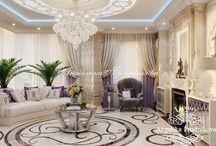 Дизайн проект интерьера квартиры в ЖК Опера Хаус / Дизайн-проект разработан для квартиры в ЖК «Опера Хаус» и выполнен в стиле ар-деко. В доме имеется просторная гостиная, в которой можно принимать много гостей. Расписной пол дополняет остальные декоративные элементы.  Интерьер квартиры стилистически выдержан в одном направлении и имеет гармоничную композицию.