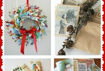 Upcycled Xmas! / Recycle your Christmas cards - ideas you can use for any time of the year!