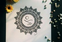 My drawings / Include mandala art, doodle art, zentangle pattern