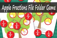 hs: MATH File Folder Games