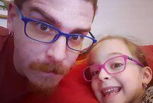 Instagram Mattinata con la nipote DuFer.  Che ne dite? Le parlo di Nietzsche o di Tom e Jerry?