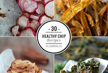 making chips & dips, dehydrating foods