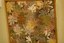 quadri foglie